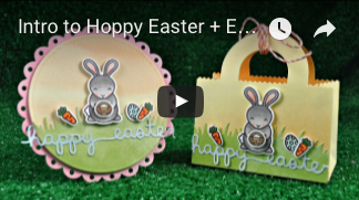 Lawn Fawn - Easter Border - Stanze