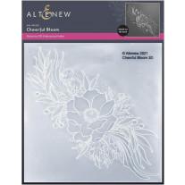 Altenew - 3D Embossing Folder - Cheerful Bloom 3D