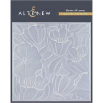 Altenew - 3D Embossing Folder - Flowers & Leaves