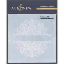 Altenew - 3D Embossing Folder - Ornamental Feature