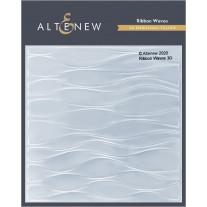 Altenew - 3D Embossing Folder - Ribbon Waves