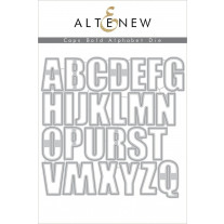 Altenew - Caps Bold Alphabet - Stanze