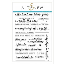 Altenew - New Me - Clear Stamps 6x8