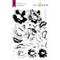 Altenew - Regal Beauty - Clear Stamp 6x8