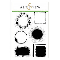 Altenew - Watercolor Frames - Clear Stamps 6x8