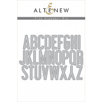 Altenew - Fine Alphabet - Stanze