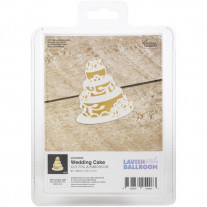 Couture Creations - Cut, Foil & Emboss Die - Wedding Cake