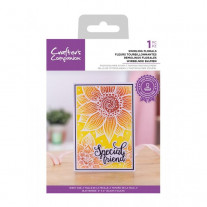 Crafter's Companion - Swirling Florals - 4x6 Clear Stamp Set