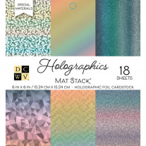 DCWV - Cardstock Stack - Holographics