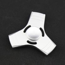 Fidget Spinner - Tri-Spinner - Silber