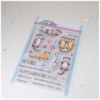 Heffy Doodle - Otter Side - Clear Stamps 4x6