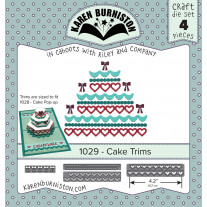 Karen Burniston - Cake Trims Stanzen