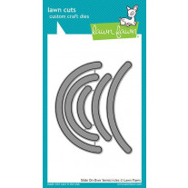 Lawn Fawn - Slide On Over Semicircles - Stanze