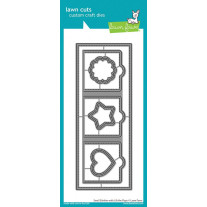 Lawn Fawn - small slimline with lift the flaps - Stanzen