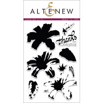Altenew - Layered Lily - Clear Stamps 4x6