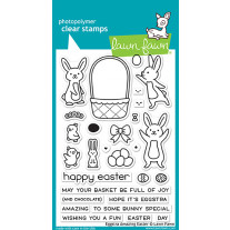 Lawn Fawn - Eggstra Amazing Easter  - Clear Stamp 4x6