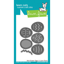 Lawn Fawn - Mini Easter Eggs - Stanze