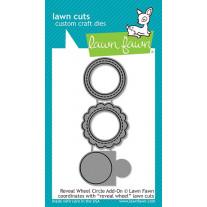 Lawn Fawn - Reveal Wheel Circle Add-on - Stanzen