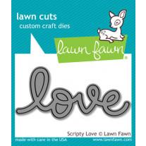 Lawn Fawn - Scripty Love - Stanze