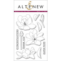 Altenew - Magnolias For Her - Clear Stamps 4x6