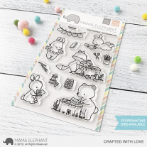 Mama Elephant - Crafted With Love - Clear Stamp 4x6