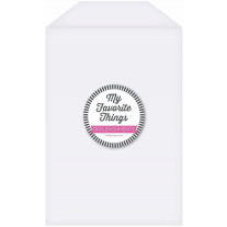 My Favorite Things - Clear Storage Pockets - Extra Large (25Stk.)