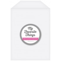 My Favorite Things - Clear Storage Pockets - Large (50Stk.)