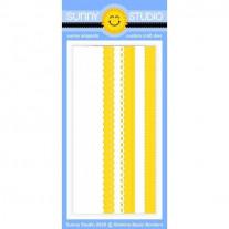 Sunny Studio - Slimline Basic Borders - Stanzen Stand Alone