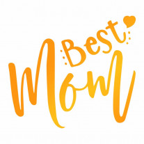 Ultimate Crafts - Best Mom - Hotfoil Stamp