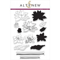 Altenew - Lotus - Clear Stamps 6x8