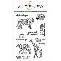 Altenew - Geometric Menagerie - Clear Stamps 4x6
