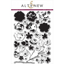 Altenew - Vintage Flowers - Clear Stamps 6x8