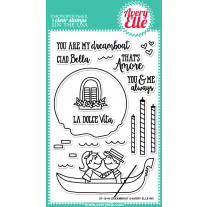 Avery Elle - Dreamboat - Clear Stamps 4x6