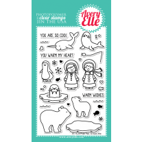 Avery Elle - Polar Pals - Clear Stamps 4x6