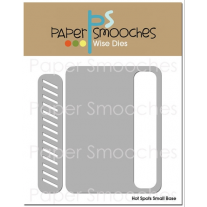 Paper Smooches - Hot Spots Small Base - Stanzen