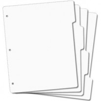 EZMount Acrylic Stamp Storage Panels with Tabs - Full Size