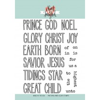 Neat & Tangled - Christmas Journaling - Clear Stamps 6x8