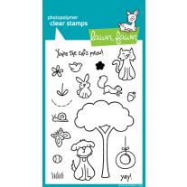 Lawn Fawn - Critters In The Burbs - Clear Stamps 4x6