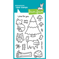 Lawn Fawn - Critters In The Forest - Clear Stamps 4x6