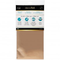 "Deco Foil 6""x12"" - Rose Gold 20Pk"