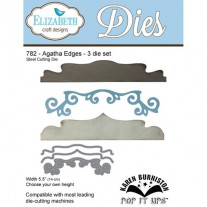 Elizabeth Craft Designs - Agatha Edges - Stanzen