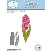 Elizabeth Craft Designs - Garden Notes - Hyacinth - Stanzen
