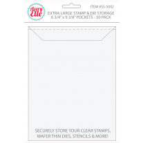 Avery Elle - Stamp & Die Storage Pockets - Extra Large 50/stk.