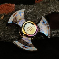 Fidget Spinner - Tri-Spinner - Metall Tribal
