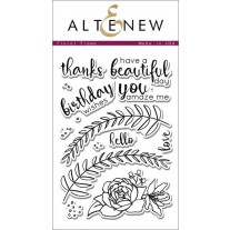 Altenew - Floral Frame - Clear Stamps 4x6