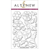 Altenew - Floral Motifs - Clear Stamps 4x6