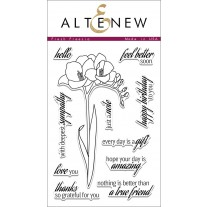 Altenew - Fresh Freesia - Clear Stamps 4x6