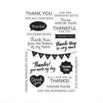 Hero Arts - Thank You Messages - Clear Stamps 4x6