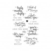 Hero Arts - You Are My Happy - Clear Stamps 4x6