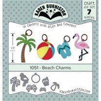 Karen Burniston - Beach Charms Stanzen